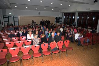 Aula der Mittelschule Weixdorf