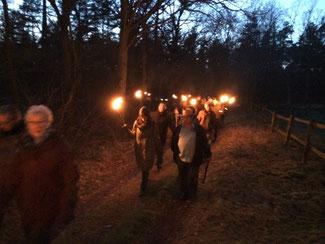 Die Wiinterwanderung auf Wald und Wanderwegen direkt in der Region Celle und Hannover. Im ANschluß geht es zur Weihnachtsfeier mit Grünkohlessen oder Winterbarbecue.