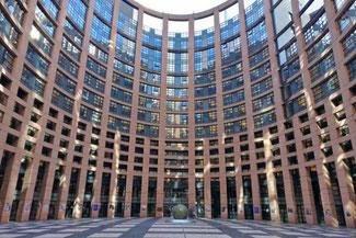 Straßburg, Elsaß, Frankreich, Parlament, EU, Europäisches Parlament,  Die Traumreiser
