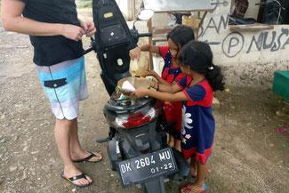 Tankstelle auf Nusa Penida