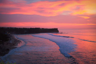 Farbenspiel am Dreamland Beach