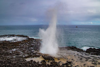 Spouting Horn, Kauai, Hawaii, USA, Die Traumreiser,
