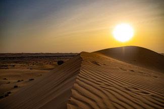 Abu Dhabi, UAE, VAE, Vereinigte Arabische Emirate, Wüste, Wüstentour, Dünen, Sand
