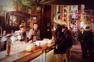 Bar, Drinks, Witte de Withstraat, Rotterdam, Niederlande, Die Traumreiser
