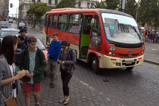 Bus, Valparaiso, Südamerika, Chile, Die Traumreiser