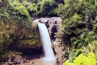 Der Tegenungan Wasserfall nahe Ubud