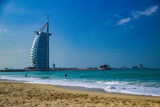 Dubai, VAE, UAE, Vereinigte Arabischen Emirate, Die Traumreiser, Strand Dubai, Jumeirah Public Beach