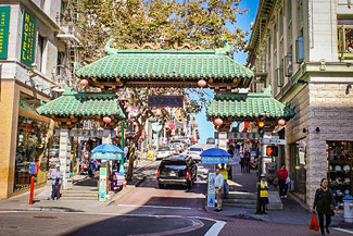 Chinatown, San Francisco, Kalifornien, USA