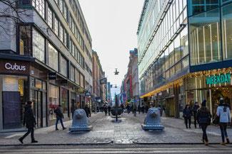 Stockholm, Schweden, Skandinavien, Die Traumreiser,  Drottninggatan, Einkaufsstraße