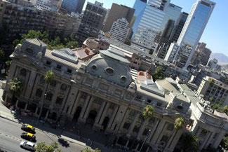 Nationalbibliothek, Santiago de Chile, Südamerika, Chile, Die Traumreiser