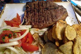 T-Bone Steak, Chile, Essen, Die Traumreiser