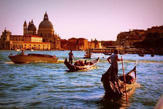 Kanal, Venedig, Italien, Die Traumreiser, Gondel, Gondola