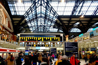 Liverpool Street Station, London, England, Die Traumreiser