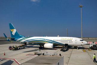 Oman, Arabien, Oman Air, Anreise