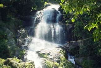 Koh Samui, Thailand, Die Traumreiser, Wasserfall
