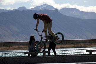 Puerto Natales, Patagonien, Südamerika, Chile, Die Traumreiser