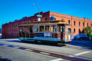 Cable Cars, San Francisco, Kalifornien, USA