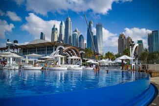 Dubai, VAE, UAE, Vereinigte Arabischen Emirate, Die Traumreiser, Strand Dubai, JBR Beach