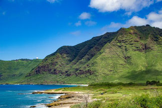 US 72, Kalaniana'Ole Highway, Oahu, Hawaii, USA, Strand, Die Traumreiser