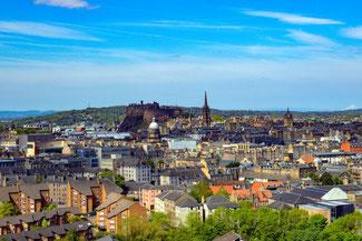 Arthur's Seat, Edinburgh, Aussicht, Schottland, Die Traumreiser