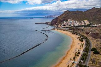Teneriffa, Kanarische Inseln, Die Traumreiser, Strand Las Teresitas