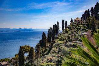 Italien, Italienische Riviera, Portofino, Gebäude, Landschaft, Die Traumreiser
