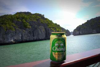 Chang, Bier, Beer, Thailand, Koh Samui, Die Traumresier