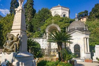 Italien, Italienische Riviera, Zoagli, Friedhof, Die Traumreiser