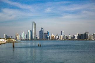 Abu Dhabi, UAE, VAE, Vereinigte Arabische Emirate, Corniche