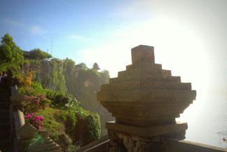Spektakuläre Aussicht am Pura Luhur Tempel