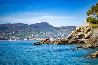 Italien, Italienische Riviera, Zoagli, Küste, Meer, Die Traumreiser