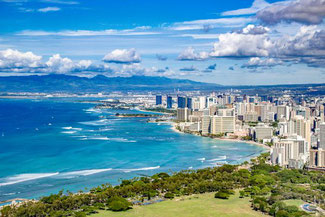 Waikiki Beach, Oahu, Hawaii, USA, Strand, Die Traumreiser