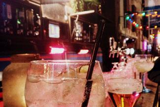 Drinks, Gin and Tonic, Rotterdam, Witte de Withstraat, Niederlande, Die Traumreiser