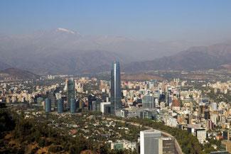 Santiago, Chile, Hauptstadt, Die Traumreiser