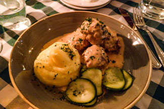 Stockholm, Schweden, Skandinavien, Die Traumreiser,  Slingerbulten, Restaurant, Köttbullar