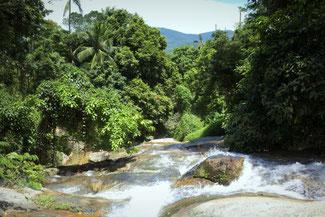 Wasserfall, Koh Samui, Thailand, Die Traumreiser