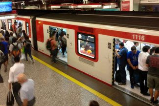 Metro, U-Bahn, Santiago de Chile, Südamerika, Chile, Die Traumreiser