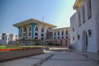Oman, Arabien, Die Traumreiser, Muscat, Sultanspalast