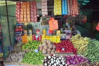 Mercado, Markt, Santiago de Chile, Südamerika, Chile, Die Traumreiser