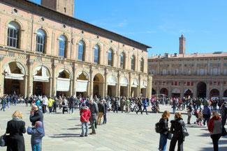 Bologna, Altstadt, Türme, Italien, Die Traumreiser
