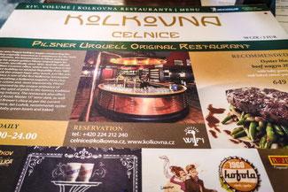 Restaurant, Gulasch, Prag, Die Traumreiser