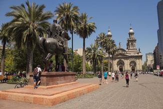 Plaza de Armas, Santiago de Chile, Südamerika, Chile, Die Traumreiser