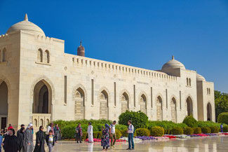 Oman, Arabien, Die Traumreiser, Sulatan Qabus Moschee