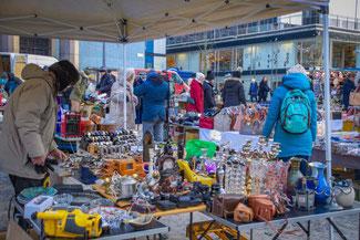 Stockholm, Schweden, Skandinavien, Die Traumreiser,  Flohmarkt, Hötorget Flohmarkt