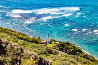 Diamond Head, Oahu, Hawaii, USA, Strand, Die Traumreiser