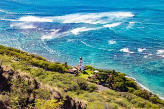 Diamond Head, Oahu, Hawaii, USA, Strand, Die Traumreiser