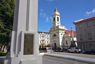 Zentrum Punta Arenas, Patagonien, Südamerika, Chile, Die Traumreiser