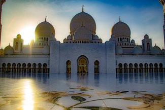 Abu Dhabi, UAE, VAE, Vereinigte Arabische Emirate, Sheik Zayed Moschee