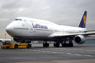 Boeing 747, Jumbo, Frankfurt Flughafen, Die Traumreiser