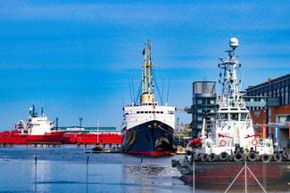 Yacht, Britannia, Edinburgh, Leith, Hafen, Die Traumreiser